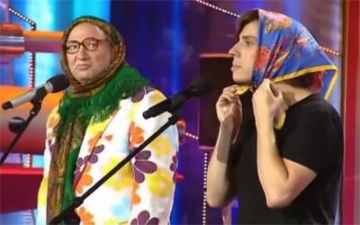 Максим Галкин, Юрий Гальцев - 'Красная шапочка и ее бабушка' смотреть онлайн