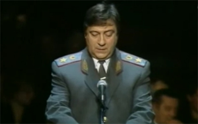Геннадий Хазанов - 'О милиции' смотреть онлайн