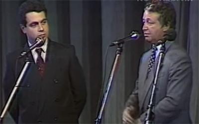 Лион Измайлов, Михаил Грушевский - 'Пародии на Горбачева и Ельцина' смотреть онлайн