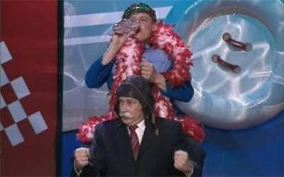 Братья Пономаренко - 'Сердючка и Якубович' смотреть онлайн